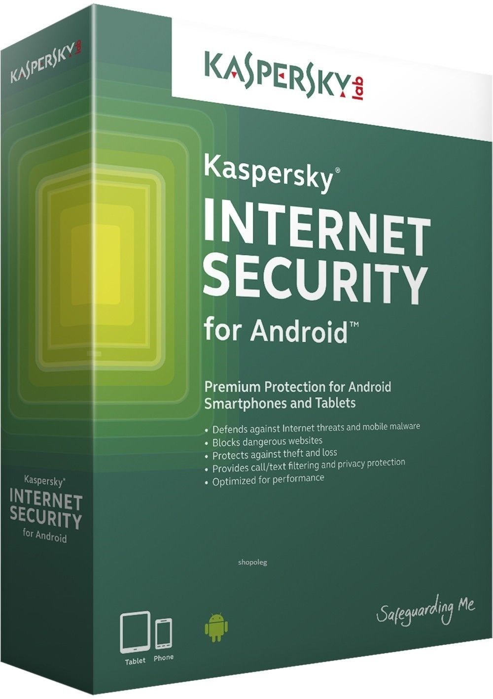Kaspersky internet security 2018 1PC 1Year