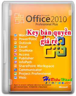 key office 2010 professional plus mới nhất