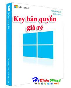 Key Windows 10 Enterprise LTSB 2015 32/64 BIT bản quyền vĩnh viễn