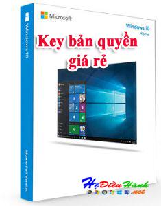 Key Windows 10 HOME 32/64 BIT bản quyền vĩnh viễn