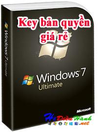 Mua bán key win 7 bản quyền giá rẻ chỉ 250k uy tín chất lượng