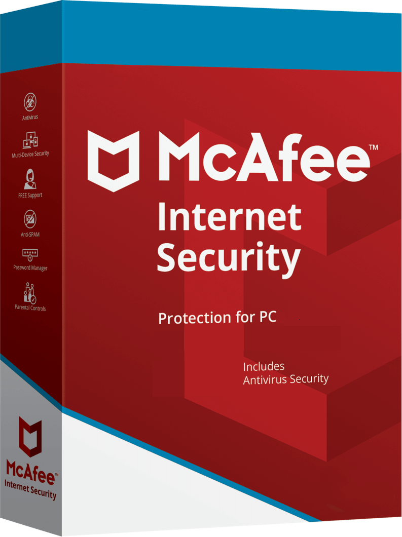 McAfee Internet Security 2018 Antivirus 6 month/1 PC