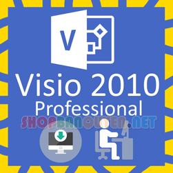Key license Microsoft Visio 2010 Professional bản quyền vĩnh viễn