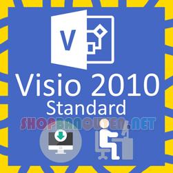 Key license Microsoft Visio 2010 Standard bản quyền vĩnh viễn