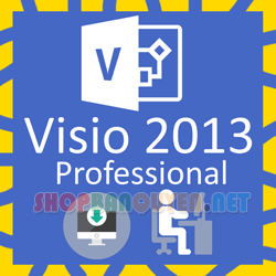 Key license Microsoft Visio 2013 Professional bản quyền vĩnh viễn