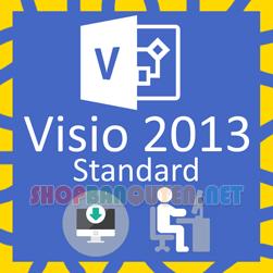 Key license Microsoft Visio 2013 Standard bản quyền vĩnh viễn