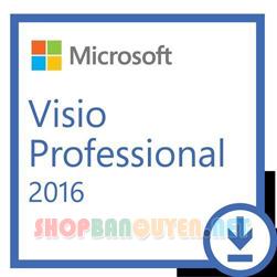 Key license Microsoft Visio 2016 Professional bản quyền vĩnh viễn