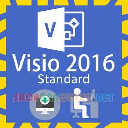Key license Microsoft Visio 2016 Standard bản quyền vĩnh viễn