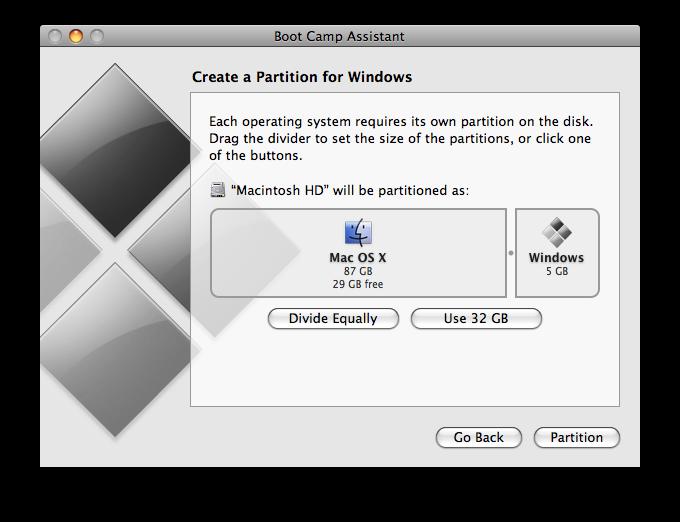 thay đổi dung lượng trống lưu trữ Windows 7
