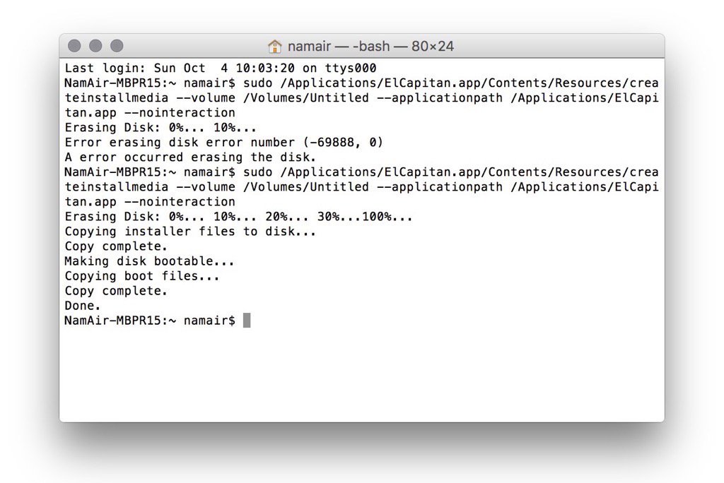 code run.