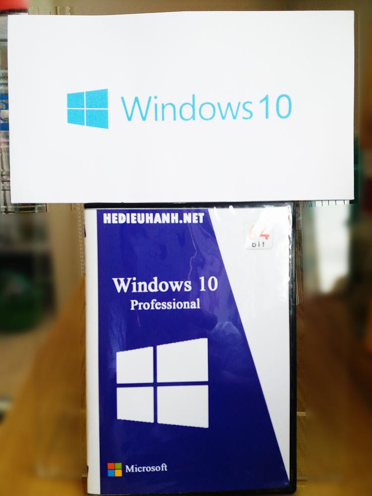 Đĩa cài windows 10 Pro 64 bit tự động