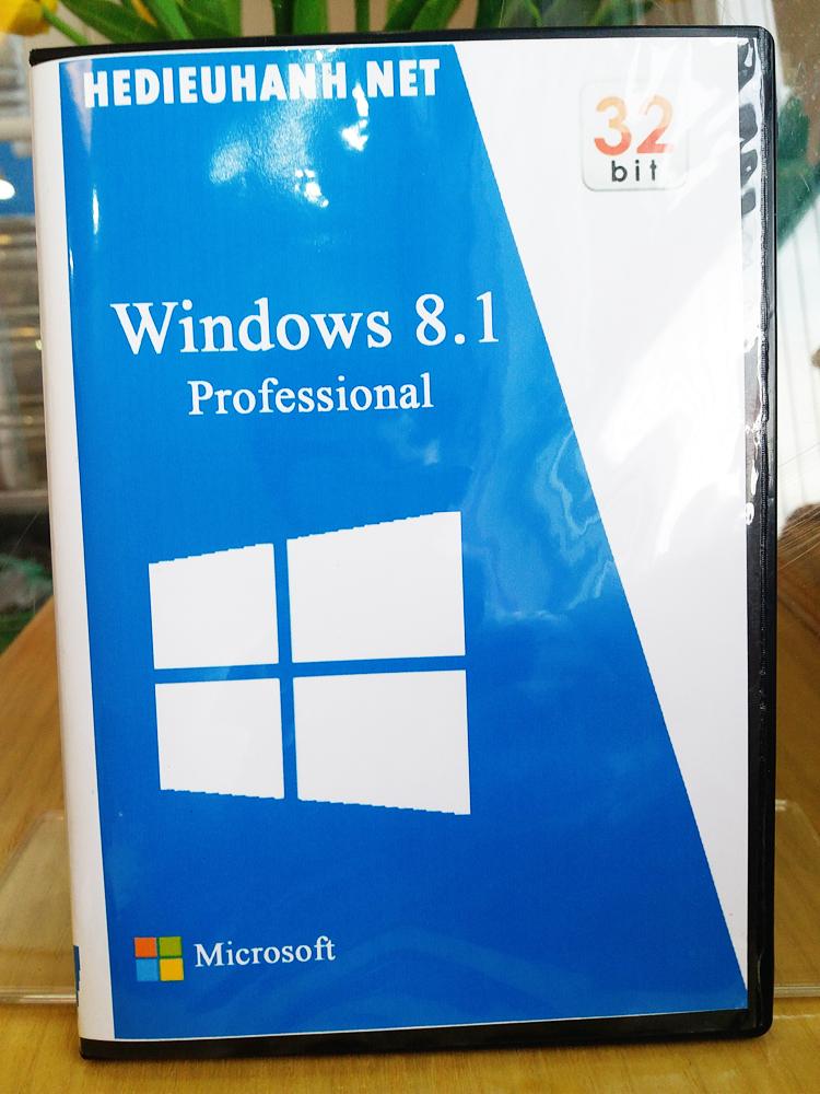 Đĩa cài windows 8.1 Pro 32 bit tự động