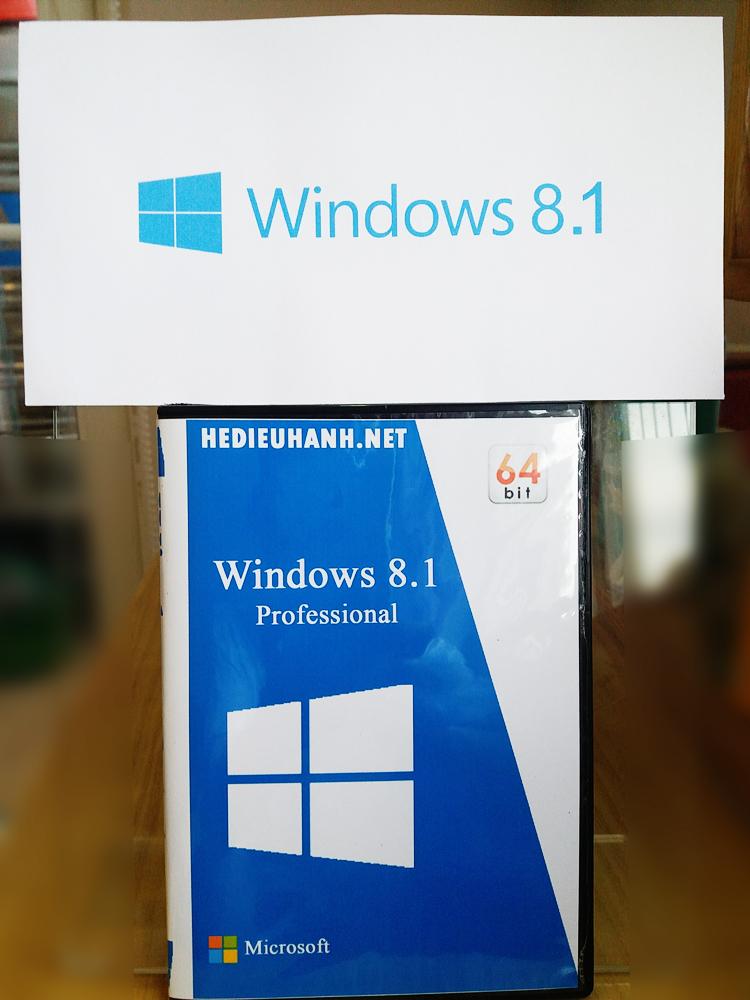 Đĩa cài windows 8.1 Pro 64 bit tự động
