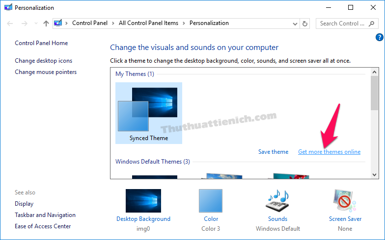 Tải và cài đặt giao diện mới cho Windows 10 trực tiếp từ Microsoft