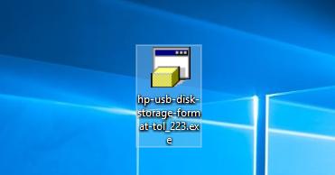 Phần mềm HP USB Disk Storage Format Tool