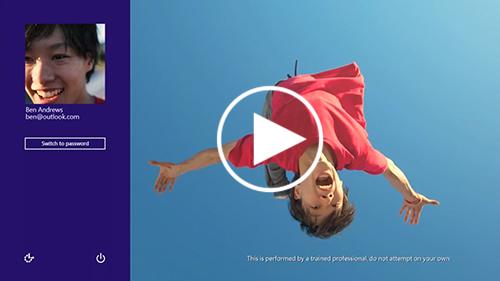 Microsoft giới thiệu 4 đoạn video quảng cáo Windows 8