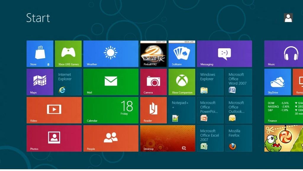 Sự lột xác của  Windows 8