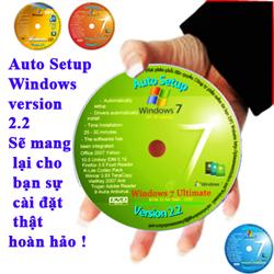 Auto Setup Windows Version 2.2 chính thức ra mắt !