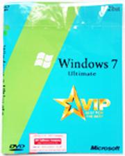 Đĩa cài windows 7 tự động phiên bản VIP ultimate 64bit