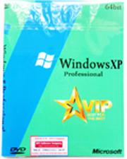 Đĩa cài windows XP tự động phiên bản VIP Pro SP2 64bit