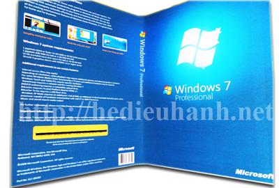 Đĩa cài windows 7 tự động phiên bản VIP Professional 32bit