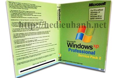 Đĩa cài windows XP tự động phiên bản VIP Pro SP2 32bit