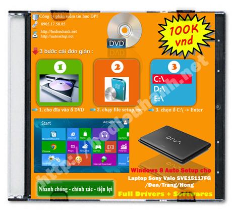 Windows 8 Sony Vaio SVE15117FG/Đen/Trắng/Hồng