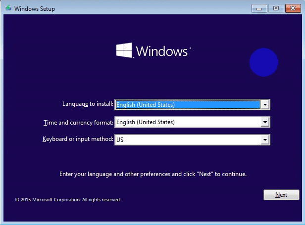 Cài Win 10 từ ổ cứng HDD như thế nào?