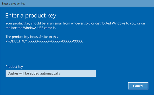 Key Active Win 10 32bit 64bit latest 2018