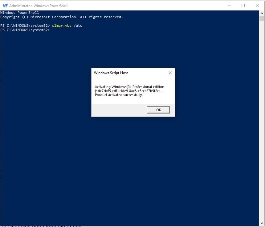Hướng dẫn nhập KEY Windows 8/8.1/10 kích hoạt bản quyền Online