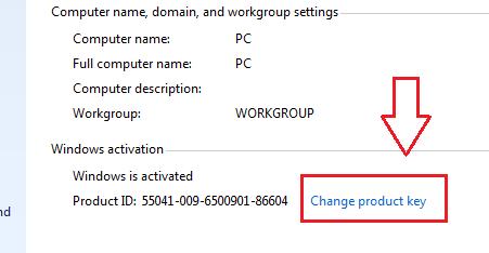Hướng dẫn nhập KEY Windows 7 kích hoạt bản quyền Online 1