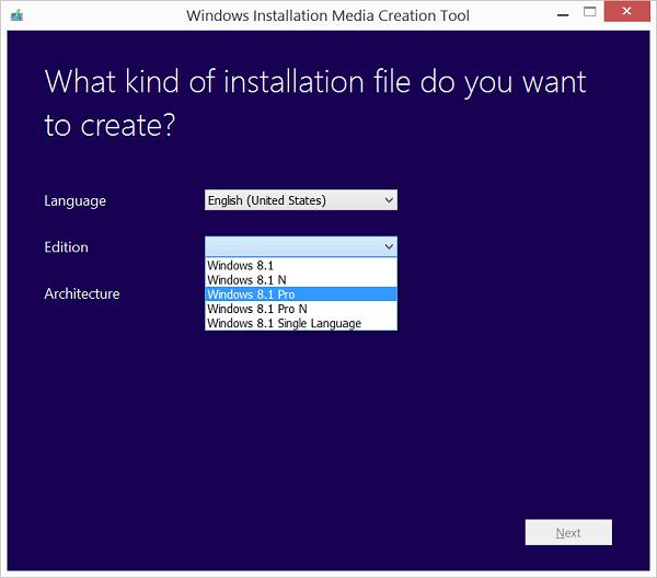 Link tải và Key cài đặt Windows 8.1